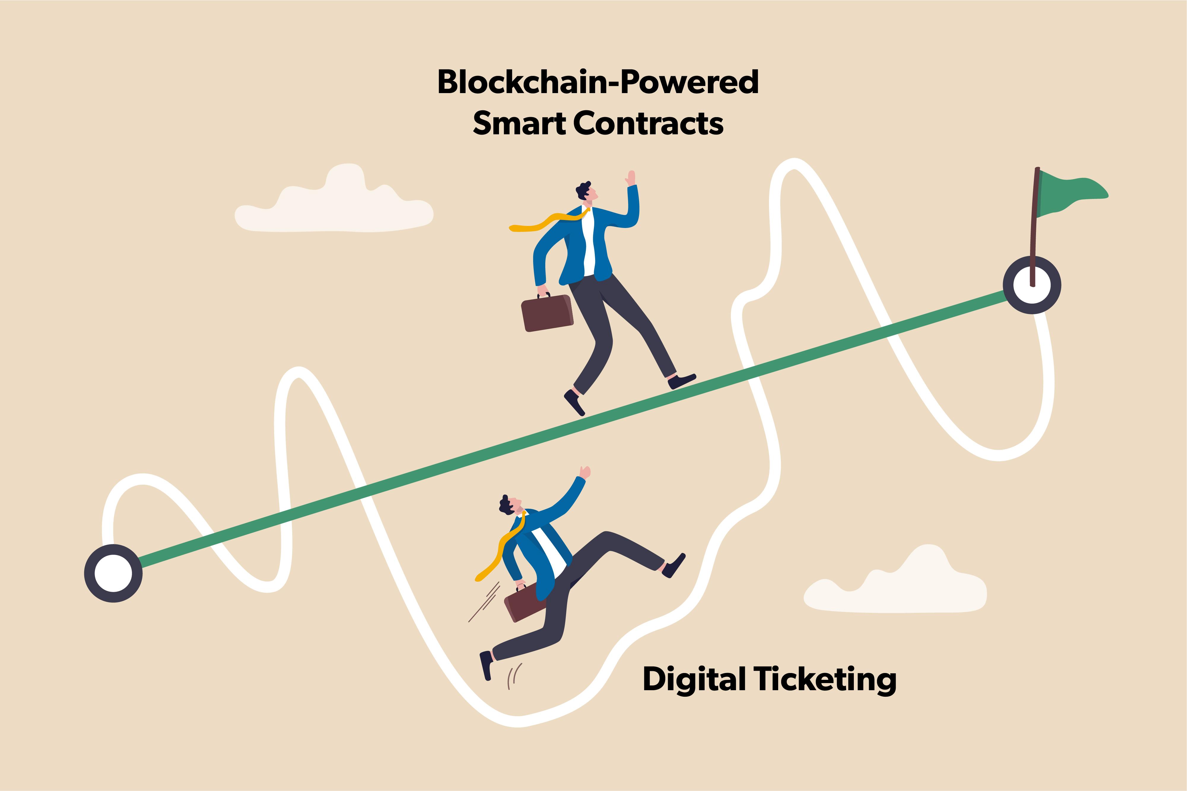 Blockchain-Powered Smart Contracts Vs. Digital Ticketing