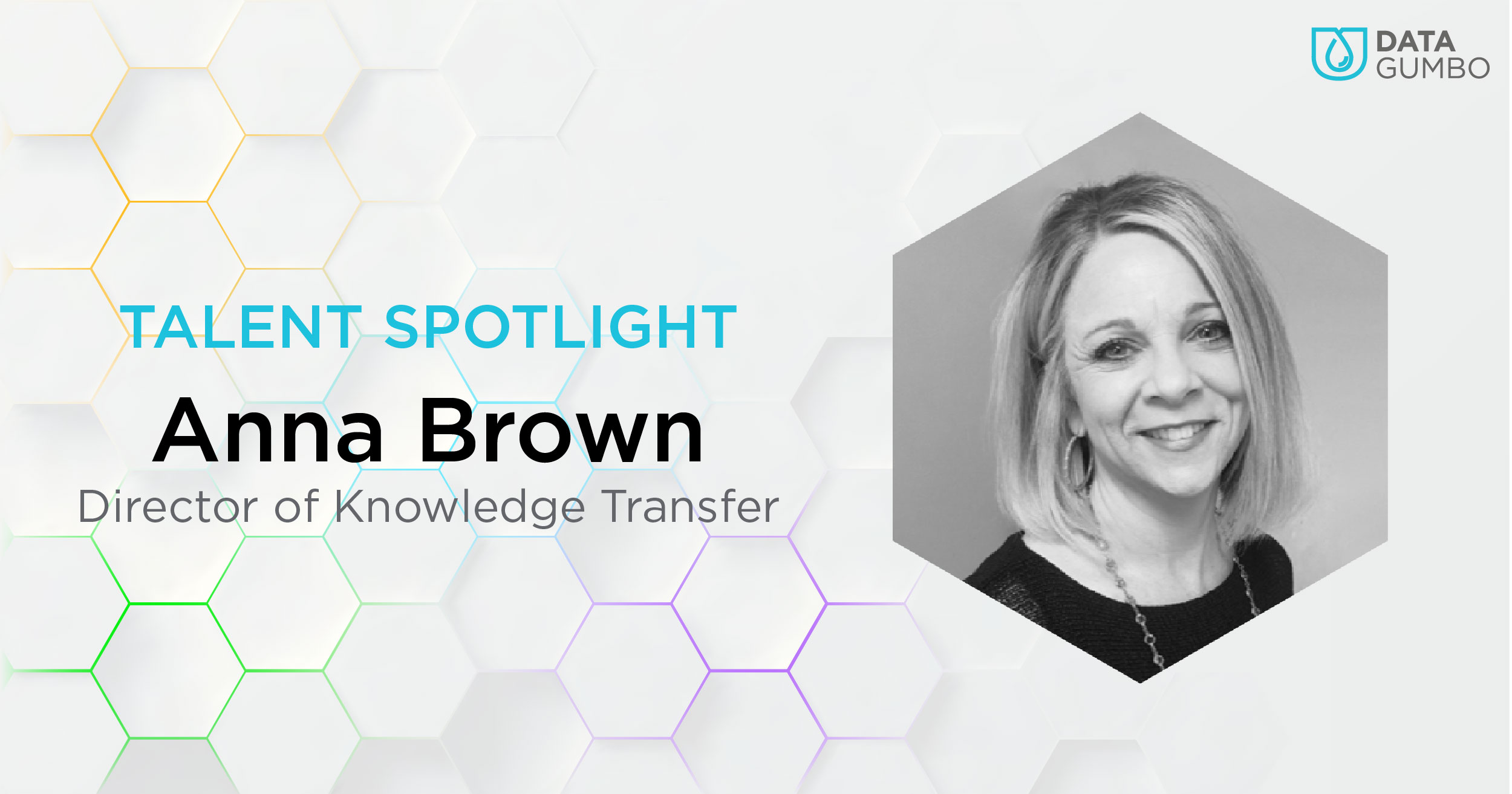 Data Gumbo Talent Spotlight: Anna Brown