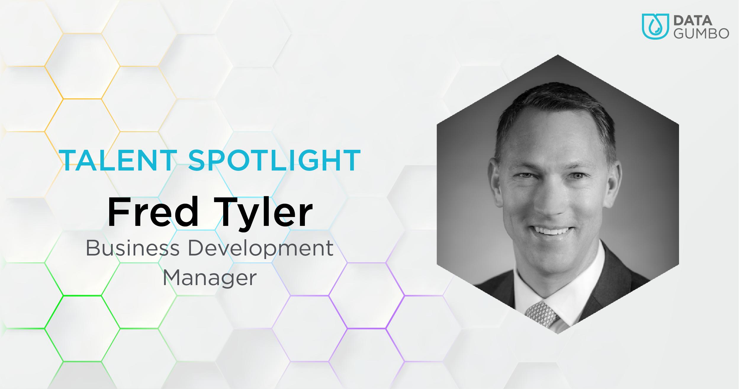 Fred Tyler, Business Development Manager, Data Gumbo
